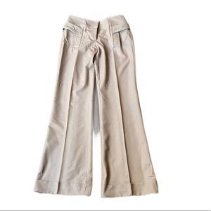 Cache Beige Trousers - size 2